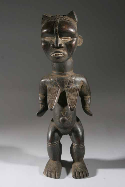 La statue dan est une belle et sobre illustration de l 39 art africain - Sculptures modernes contemporaines ...