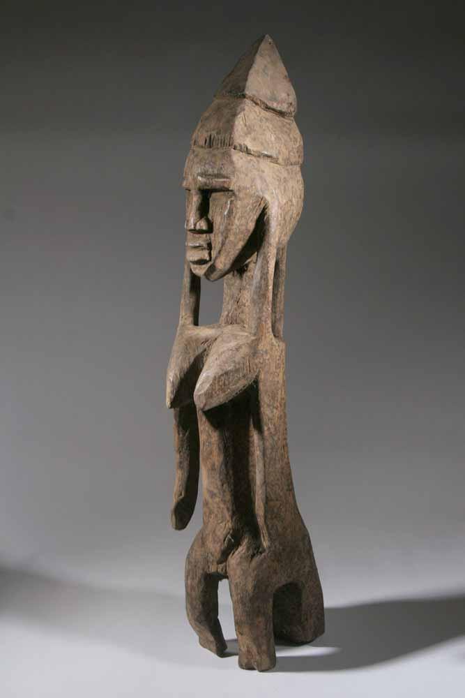 La statue Bambara est une belle expression de l' art afri # Sculpture Africaine En Bois