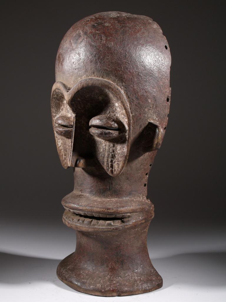 Le masque africain tchokwe - Masque visage a mettre au frigo ...