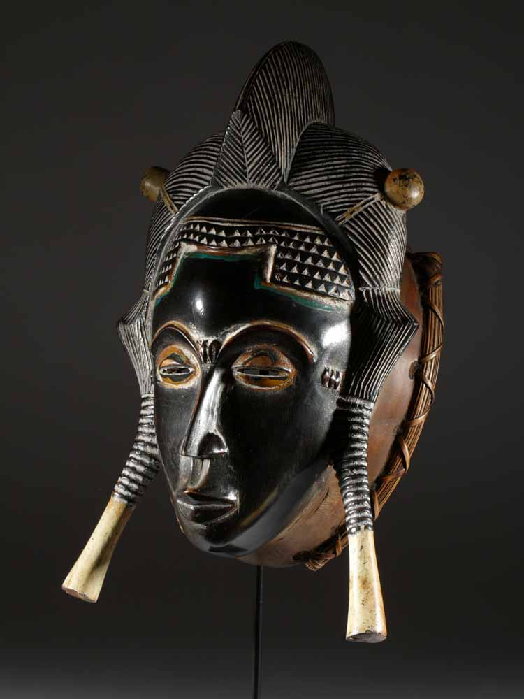 masque africain guerre