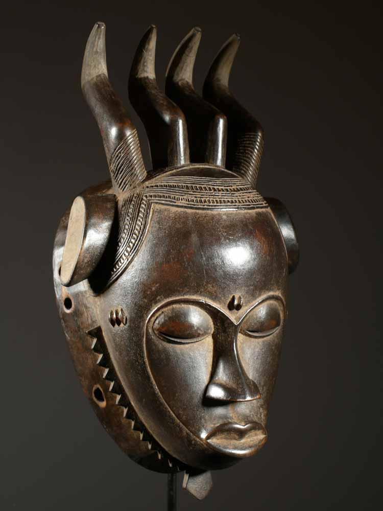 art africain masque baoule